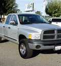 dodge ram pickup 1500 2004 silver 4x4 gasoline 8 cylinders 4 wheel drive automatic 98371