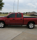 dodge ram pickup 1500 2007 red pickup truck 1500 gasoline 8 cylinders rear wheel drive automatic with overdrive 76108