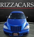 chrysler pt cruiser 2005 blue wagon touring gasoline 4 cylinders front wheel drive automatic with overdrive 60546