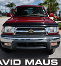 toyota 4runner 2000 red suv sr5 gasoline v6 rear wheel drive automatic 32771