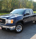 gmc sierra 1500 2010 blue pickup truck sl flex fuel 8 cylinders 2 wheel drive 4 speed automatic 44024