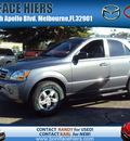 kia sorento 2008 gray suv lx gasoline 6 cylinders rear wheel drive automatic 32901