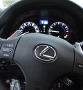 lexus is 250 2009 tungsten pearl sedan gasoline 6 cylinders rear wheel drive automatic 91731