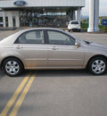 kia spectra 2007 tan sedan gasoline 4 cylinders front wheel drive automatic 13502