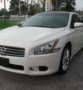 nissan maxima 2011 white sedan gasoline 6 cylinders front wheel drive automatic 45840
