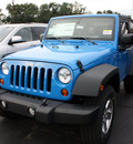 jeep wrangler 2012 blue suv sport gasoline 6 cylinders 4 wheel drive 6 speed manual 07730
