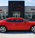 dodge charger 2007 red sedan rt gasoline 8 cylinders rear wheel drive automatic 76210