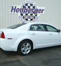 chevrolet malibu 2009 white sedan ls gasoline 4 cylinders front wheel drive automatic 80905