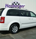 chrysler town and country 2010 stone white van touring gasoline 6 cylinders front wheel drive automatic 80905