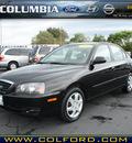 hyundai elantra 2005 black sedan gls gasoline 4 cylinders front wheel drive automatic 98632