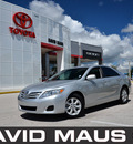 toyota camry 2010 silver sedan le 4 cylinders front wheel drive automatic 32771