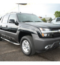chevrolet avalanche 2005 black 1500 lt flex fuel 8 cylinders 4 wheel drive automatic 98632