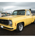 chevrolet scottsdale 1978 yellow pickup truck v8 automatic 98632
