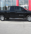 nissan titan 2009 black se flex fuel 8 cylinders 4 wheel drive automatic 33884