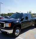 gmc sierra 3500hd 2011 black slt diesel 8 cylinders 4 wheel drive automatic 76210