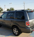 honda pilot 2007 dk  gray suv ex l w dvd gasoline 6 cylinders front wheel drive automatic 76210