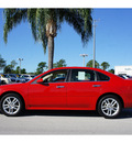 chevrolet impala 2011 red sedan ltz flex fuel 6 cylinders front wheel drive automatic 33870