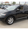 nissan murano 2009 black suv s gasoline 6 cylinders front wheel drive cont  variable trans  77090