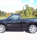gmc sierra 1500 2012 black sle flex fuel 8 cylinders 4 wheel drive not specified 44024