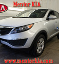 kia sportage 2012 silver suv lx gasoline 4 cylinders front wheel drive automatic 44060