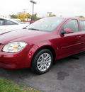 chevrolet cobalt 2009 dark red sedan lt gasoline 4 cylinders front wheel drive automatic 14221