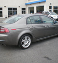 acura tl 2007 gray sedan gasoline 6 cylinders front wheel drive automatic 13502