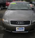 audi a4 2004 tan cabriolet gasoline 4 cylinders front wheel drive automatic 13502
