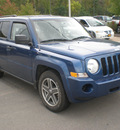 jeep patriot 2009 blue suv sport gasoline 4 cylinders 4 wheel drive automatic 13502