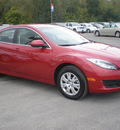 mazda mazda6i 2011 red sedan gasoline 4 cylinders front wheel drive automatic 13502