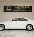 mercedes benz cls class 2008 white sedan cls550 gasoline 8 cylinders rear wheel drive automatic 55391