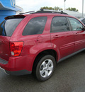 pontiac torrent 2006 red suv torrent gasoline 6 cylinders all whee drive automatic 46219