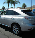 lexus rx 350 2010 gray suv gasoline 6 cylinders front wheel drive automatic 92235