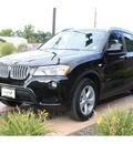 bmw x3 2011 black xdrive28i gasoline 6 cylinders all whee drive automatic 99352