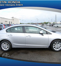 honda civic 2012 silver sedan gasoline 4 cylinders front wheel drive automatic 46219