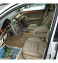 audi a8 2005 white sedan l quattro gasoline 8 cylinders all whee drive automatic with overdrive 08902