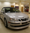 saab 9 3 2007 silver aero gasoline 6 cylinders front wheel drive automatic 27707