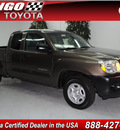 toyota tacoma 2009 dk  green gasoline 4 cylinders 2 wheel drive automatic 91731