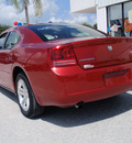 dodge charger 2007 red sedan rt gasoline 8 cylinders rear wheel drive automatic 34731