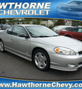 chevrolet monte carlo 2006 silver coupe ss gasoline 8 cylinders front wheel drive automatic 07507