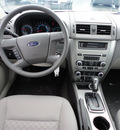 ford fusion 2012 white sedan s gasoline 4 cylinders front wheel drive automatic with overdrive 60546
