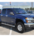 chevrolet colorado 2005 dk  blue ls z71 gasoline 5 cylinders rear wheel drive automatic 77090