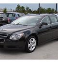 chevrolet malibu 2011 black sedan ls gasoline 4 cylinders front wheel drive automatic 77090