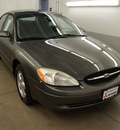 ford taurus 2002 dk  gray sedan se standard gasoline 6 cylinders front wheel drive automatic 44060
