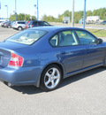 subaru legacy 2007 blue sedan 2 5i gasoline 4 cylinders all whee drive autostick 55811
