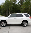 toyota 4runner 2011 white suv limited gasoline 6 cylinders 4 wheel drive automatic 27215