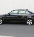 bmw 5 series 2008 black sedan 528i gasoline 6 cylinders rear wheel drive automatic 27616