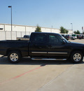 chevrolet silverado 1500 2005 black ls gasoline 8 cylinders rear wheel drive automatic 76108