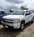 chevrolet silverado 1500 2011 white lt flex fuel 8 cylinders 2 wheel drive automatic 27591