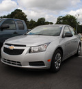chevrolet cruze 2012 silver sedan ls gasoline 4 cylinders front wheel drive 6 speed manual 27591