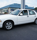 ford crown victoria 2011 white sedan lx flex fuel 8 cylinders rear wheel drive automatic with overdrive 08753